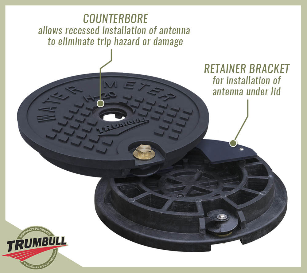 Composite and polymer meter box lids « trumbull